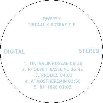 Tiktaalik Roseae EP cover art