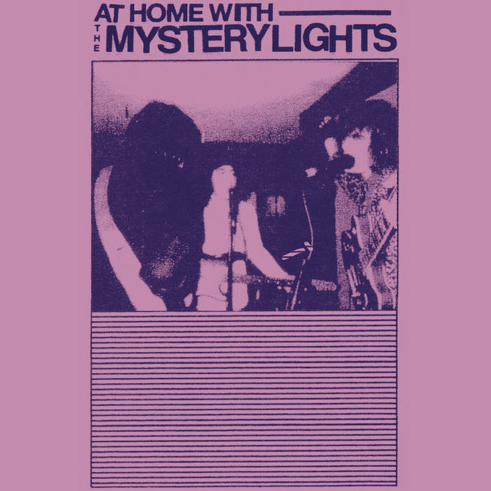 AT HOME W/ THE MYSTERY LIGHTS cover art