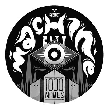 SVET007: Machine City EP cover art
