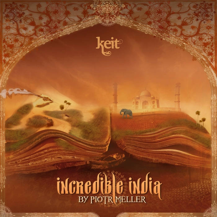 Incredible India cover art