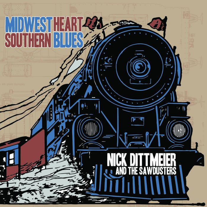 Midwest Heart/Southern Blues cover art