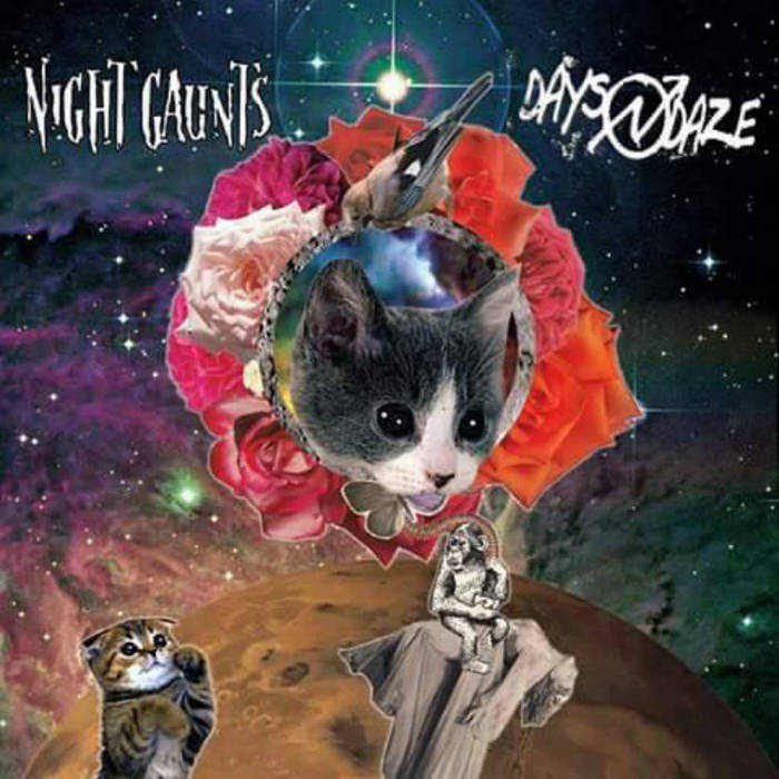 DAYS N' DAZE//NIGHT GAUNTS SPLIT. cover art