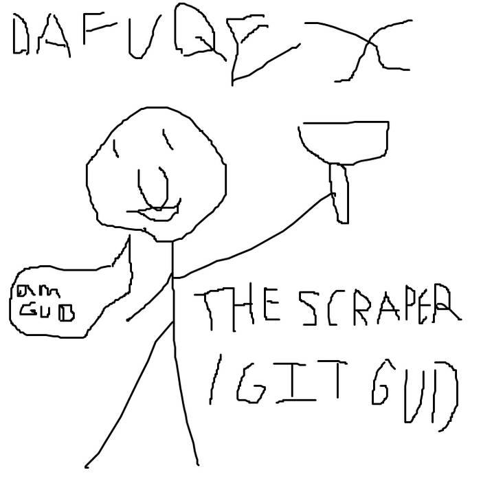 The Scraper/Git Gud cover art