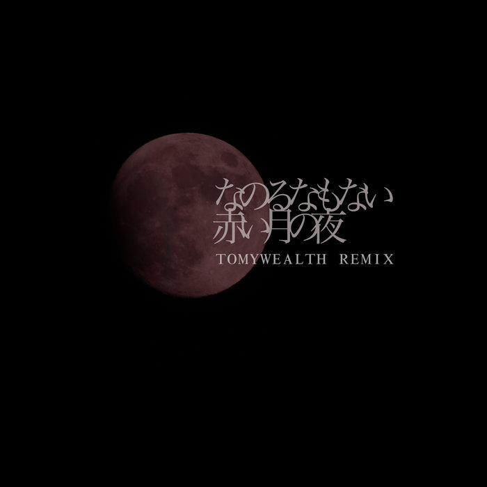 なのるなもない - 赤い月の夜 (TOMY WEALTH RMX) cover art