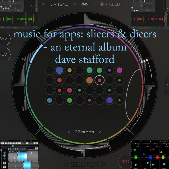 music for apps: slicers & dicers - an eternal album cover art