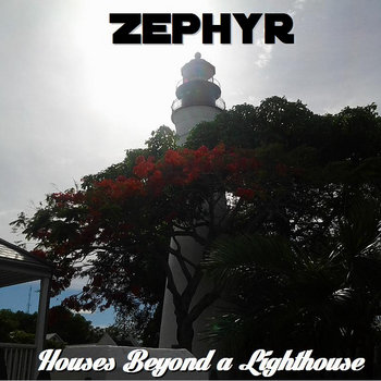 Houses Beyond a Lighthouse cover art