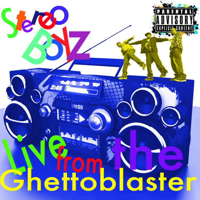Live from the Ghettoblaster cover art