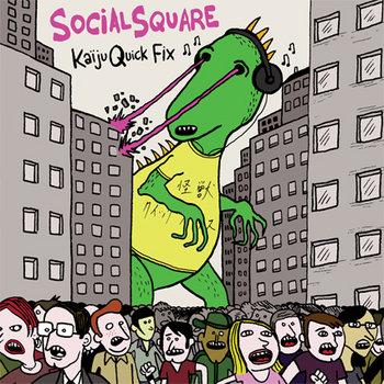 Kaiju Quick Fix (mini-EP) cover art