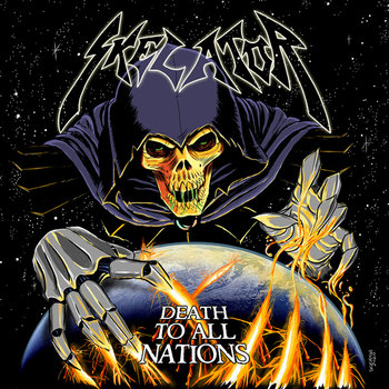 "SKELATOR ""Death To All Nations"" cover art"