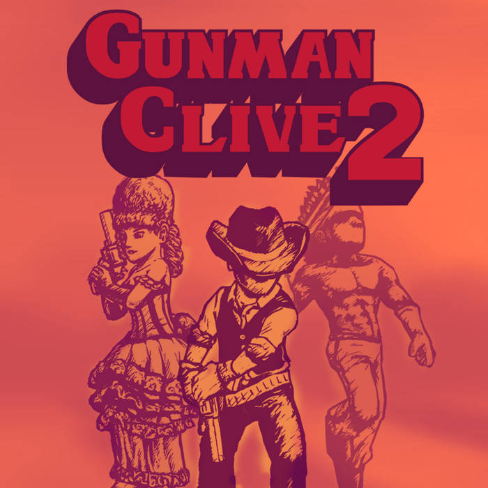 Gunman Clive 2 Original Soundtrack cover art