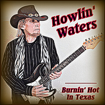 Burnin' Hot In Texas cover art