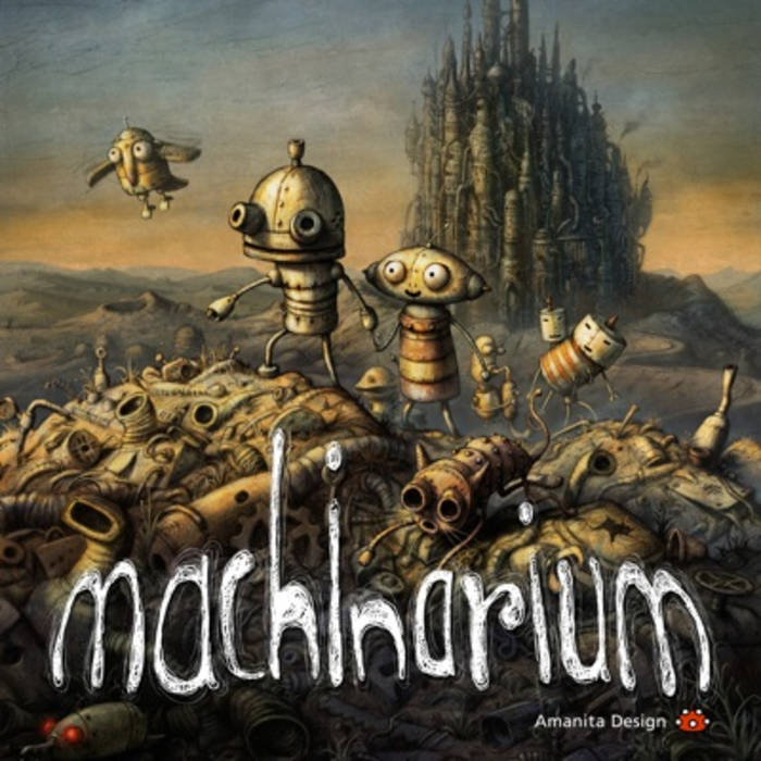 Machinarium Soundtrack cover art