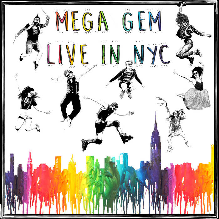 Live in NYC cover art