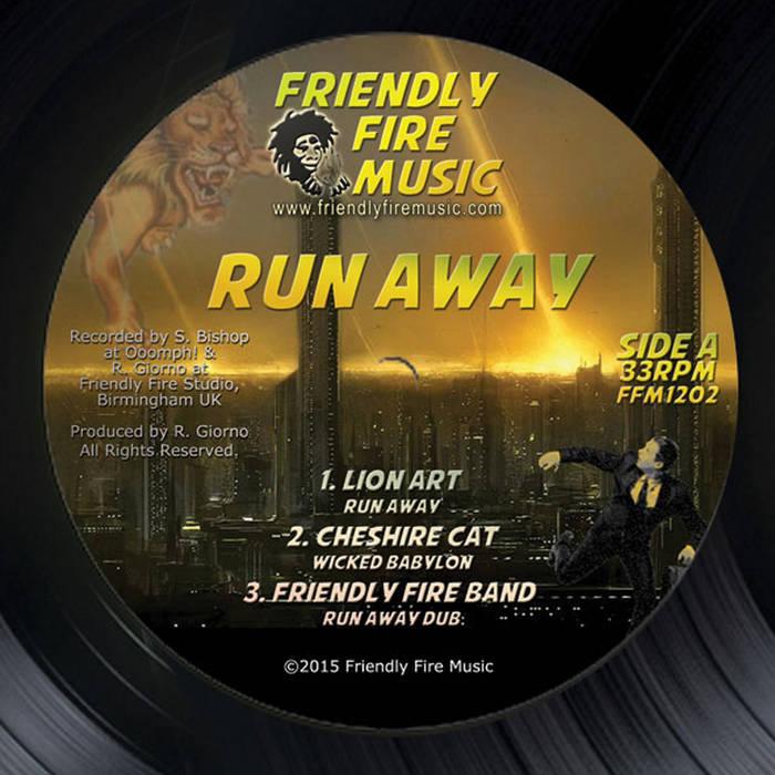 "Run Away EP 12"" cover art"