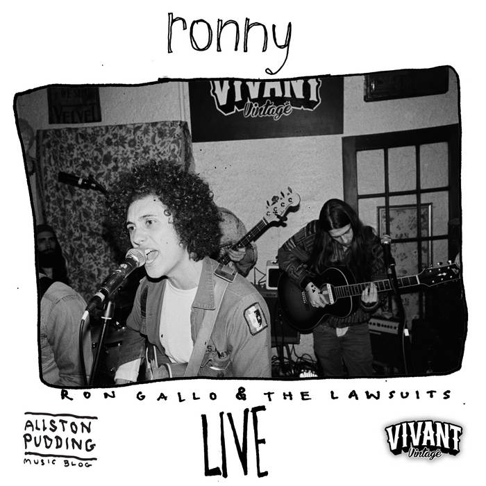 RONNY: LIVE! Allston Pudding Session at Vivant Vintage cover art
