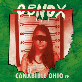 "OBNOX  ""Canabible Ohio"" EP cover art"