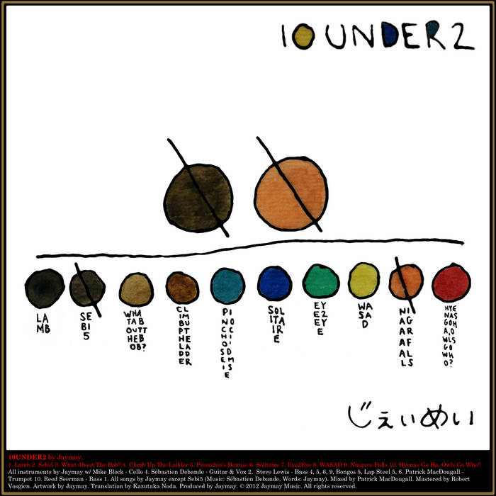10UNDER2 EP cover art