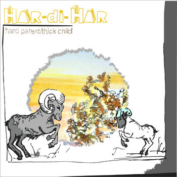 hard parent/thick child EP cover art
