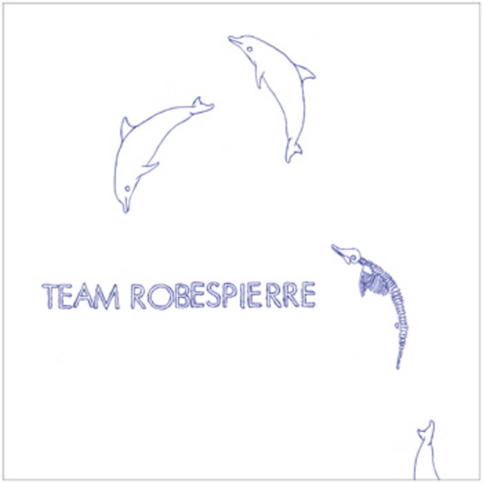 "TEAM ROBESPIERRE / BREVATOR split 10"" cover art"