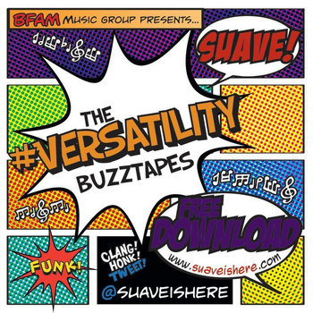 The #Versatility Buzztapes (Extended Edition) cover art