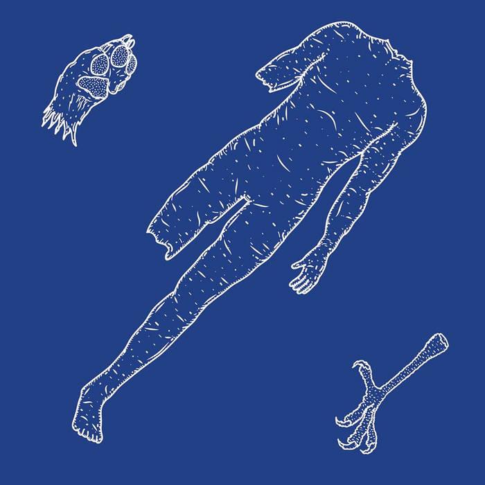 """Foxmoulder/Eaglehaslanded Split 12"""" cover art"""