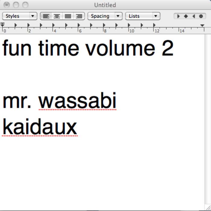 Fun Time Vol. 2 cover art