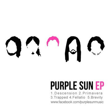 Purple Sun EP cover art
