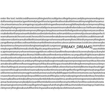 Freaky Dreams cover art