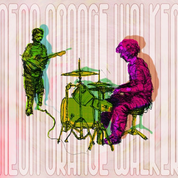 Neon Orange Walker EP cover art