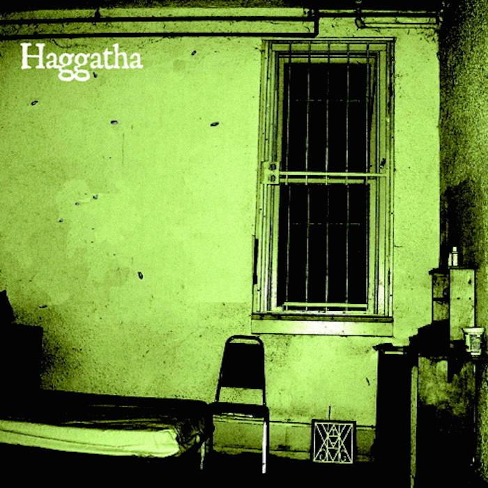 "HAGGATHA / MOLOCH Split 7"" cover art"