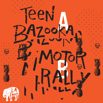 "Teen Bazooka / Motor Rally 7"" cover art"