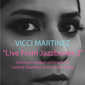 "Pre-order ""Live From Jazzbones 2"" cover art"