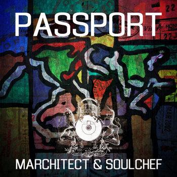 Passport cover art