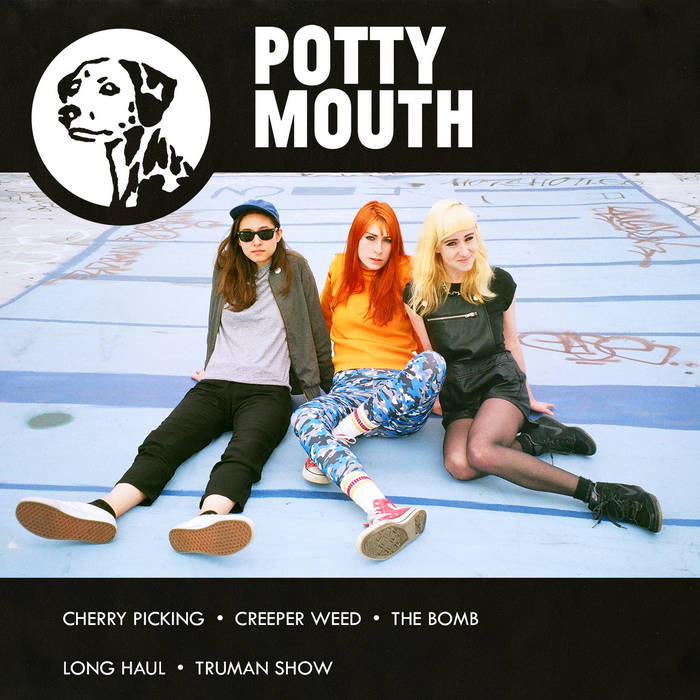 POTTY MOUTH S/T EP cover art