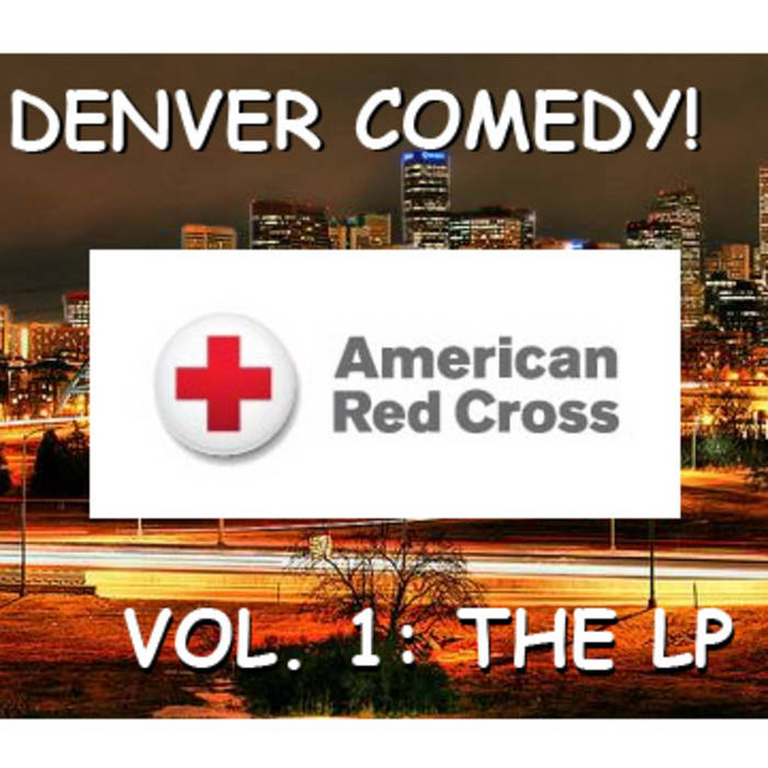 Denver Comedy Vol 1. The LP cover art