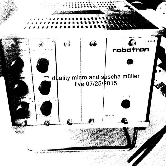 duality micro and sascha müller - the robotron session cover art