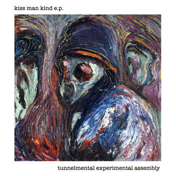 """kiss man kind e.p."" cover art"