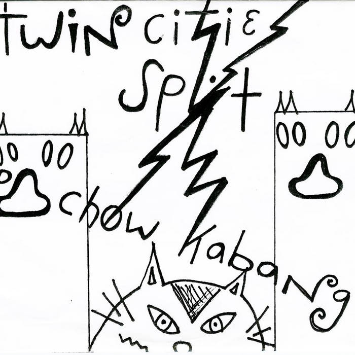 TWIN Cities Split EP cover art
