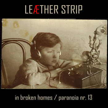 In Broken Homes / Paranoia nr. 13 cover art