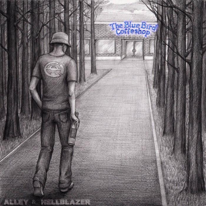 the blue bird coffeshop cover art