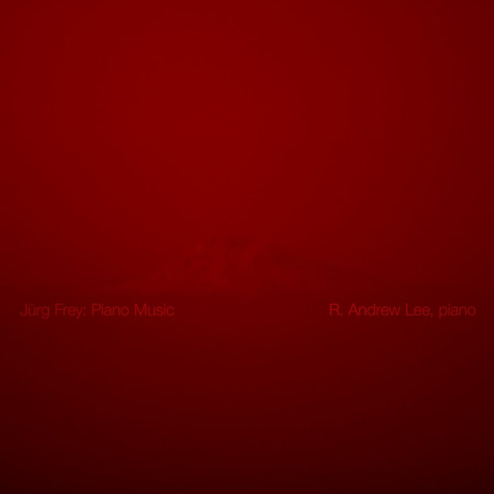 Jürg Frey: Piano Music cover art