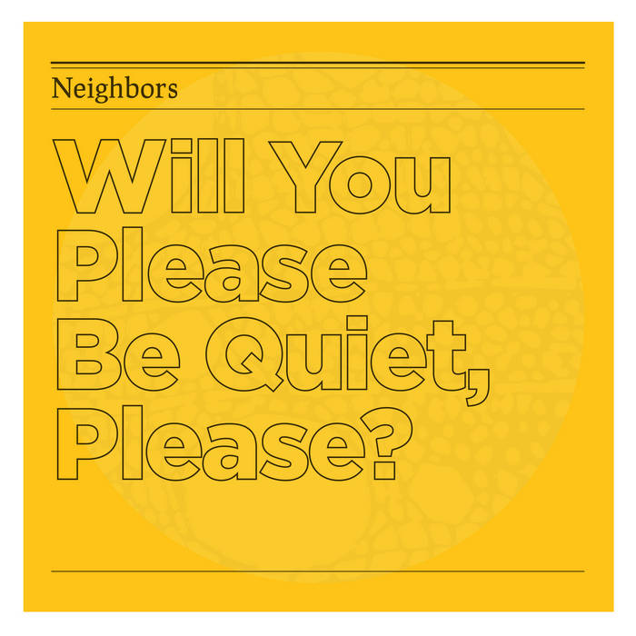 Will You Please Be Quiet, Please? cover art
