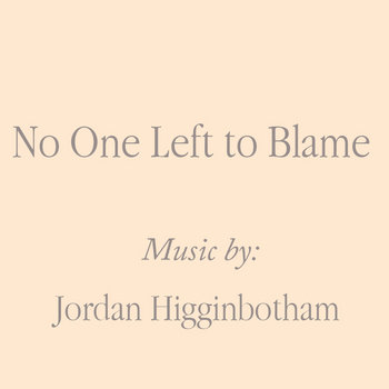 No One Left to Blame - Single cover art