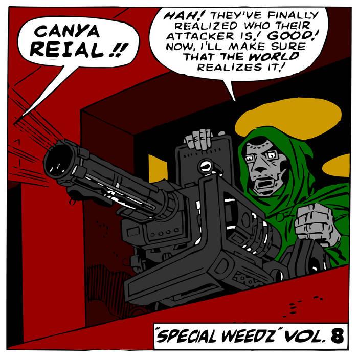"""SPECIAL WEEDZ"" VOL.8 (Sonny's record shop special) cover art"