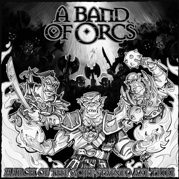 March of the Gore-Stained Axe Tribe cover art