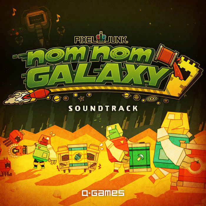 NomNomGalaxy Soundtrack cover art