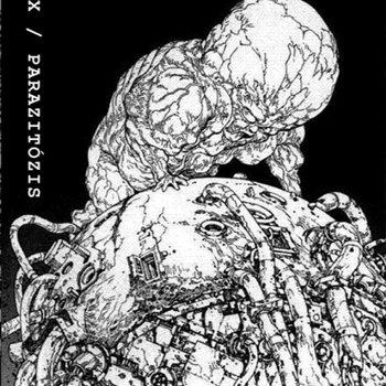SPLIT WITH PARAZITÓZIS cover art
