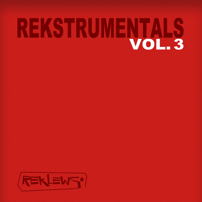 Rekstrumentals Vol.3 cover art