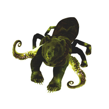 Xenograft - Kettlespider - Bear the Mammoth cover art