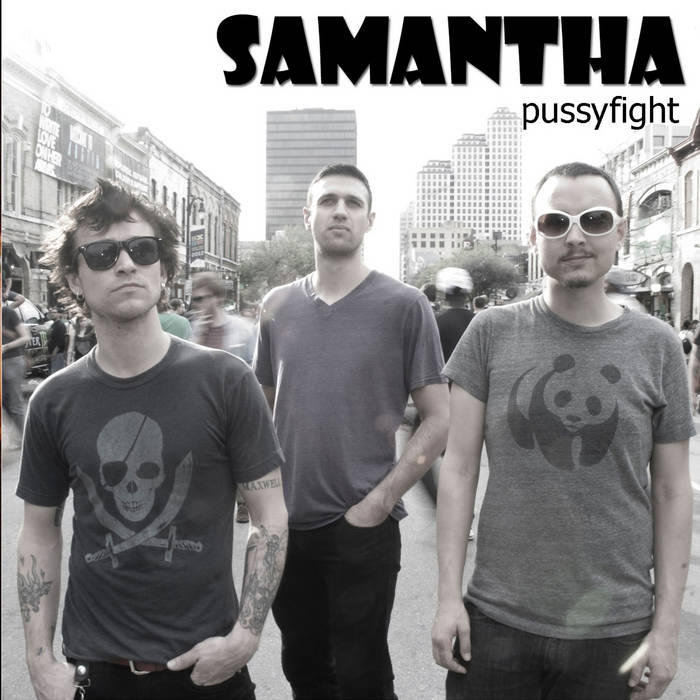 Pussyfight EP cover art